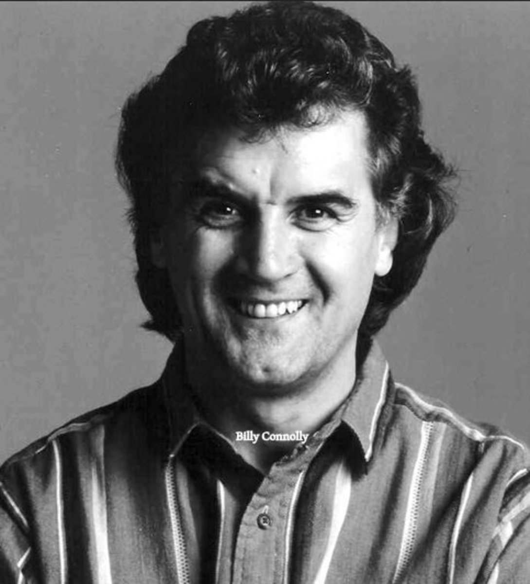 A younger Billy Connolly