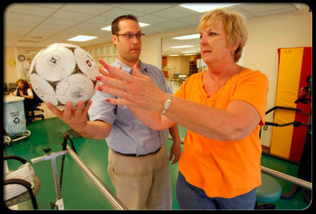 Keeping a therapy or exercise routine is important when diagnosed with Parkinson's Disease.