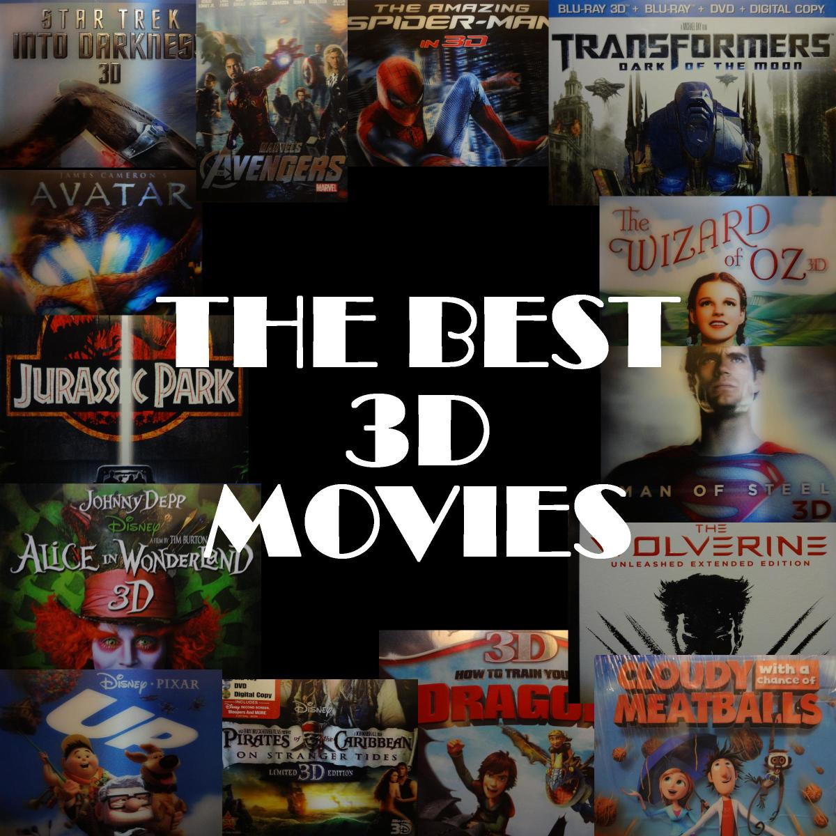 3 d movie list