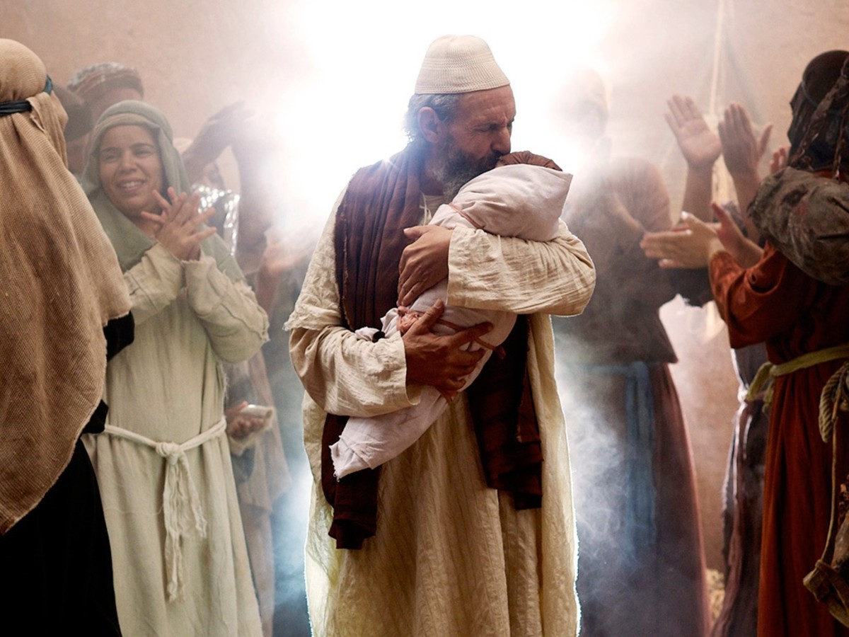 """""""And you, my little son, shall be called the prophet of the glorious God, for you will prepare the way for the Messiah."""""""