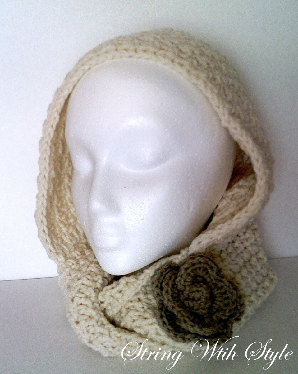 Infinity Hooded Scarf