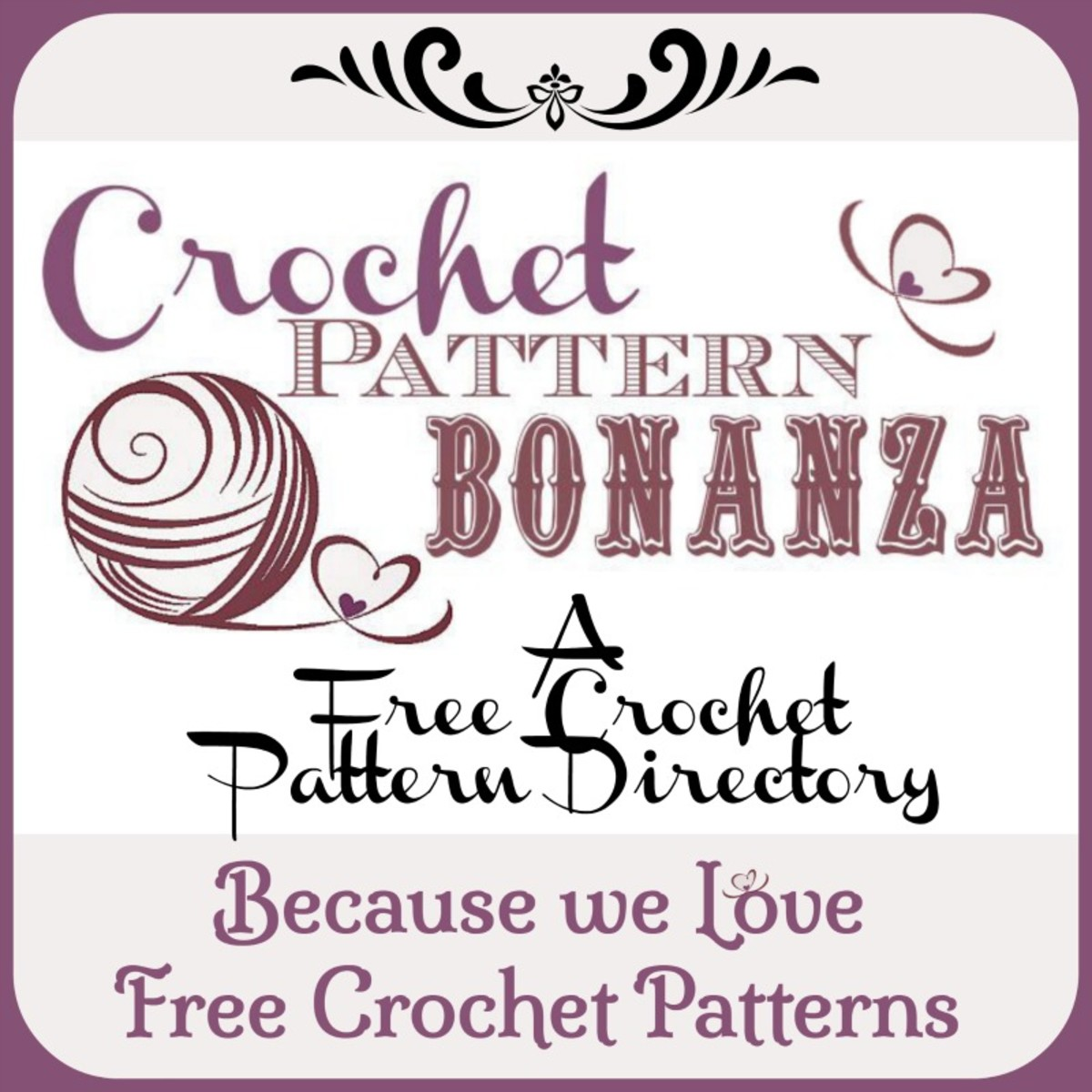 For More FREE Crochet Patterns visit Crochet Pattern Bonanza: http://crochetpatternbonanza.com/