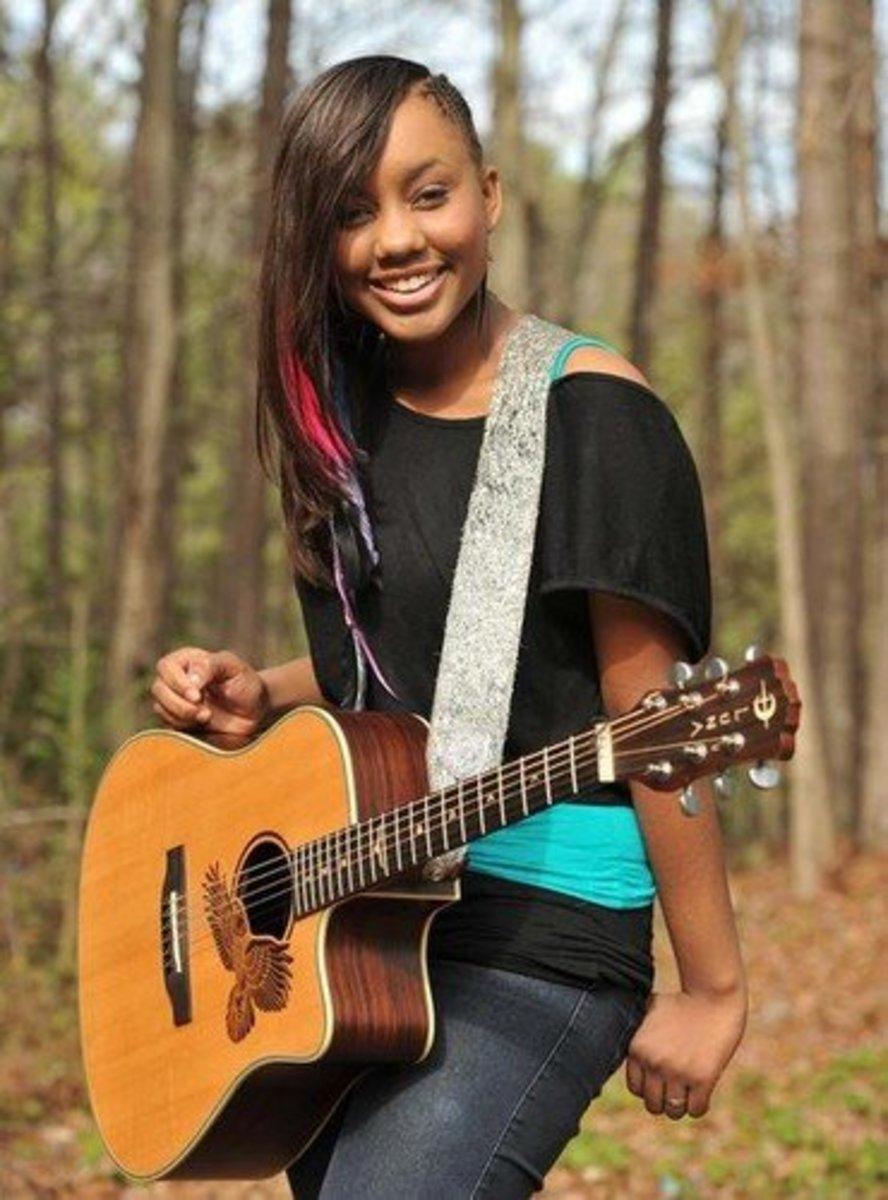 Black Female Christian Singer - Inspirational Jamie Grace