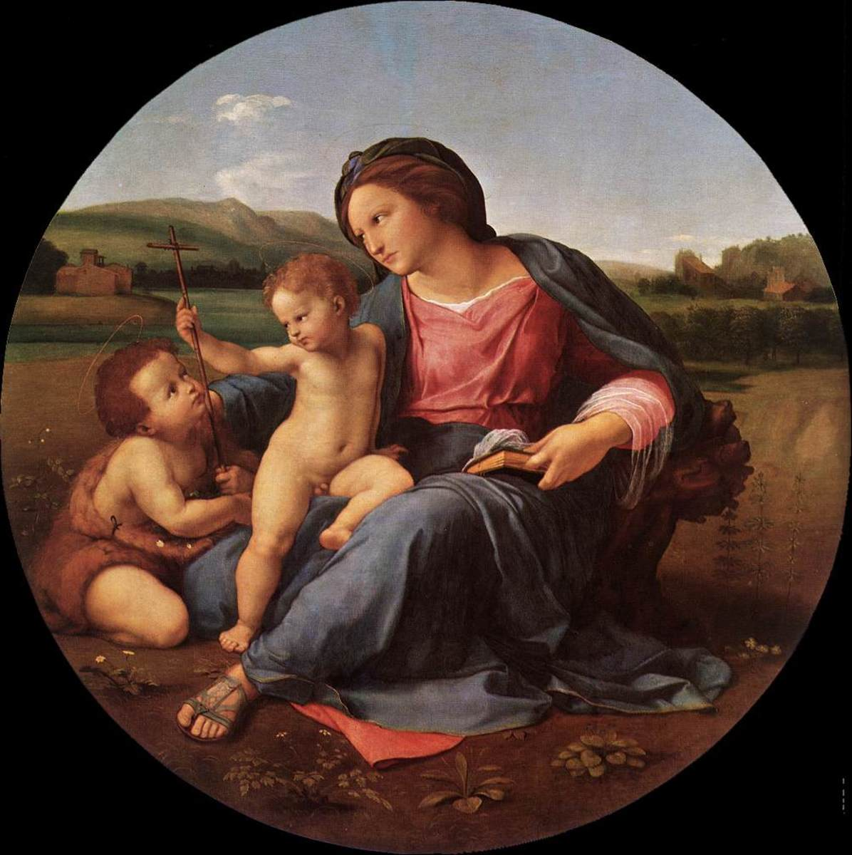 Drawing to Painting: Analyzing Raphael's Alba Madonna
