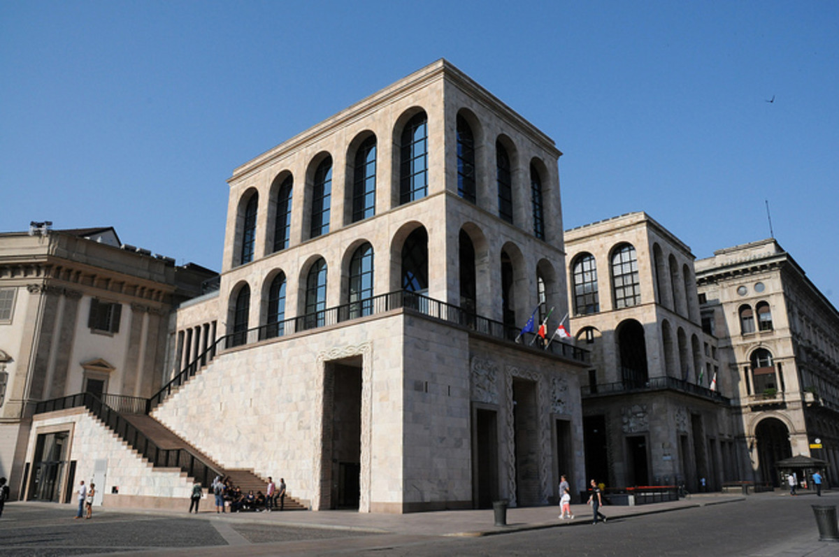 Museo de Novecento within the Palazzo dell'Arengario