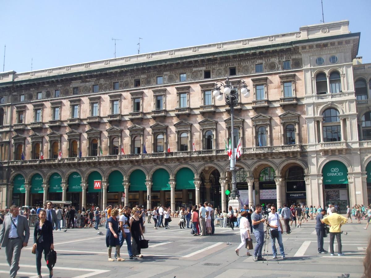 The Palazzi dei Portici Settentrionali
