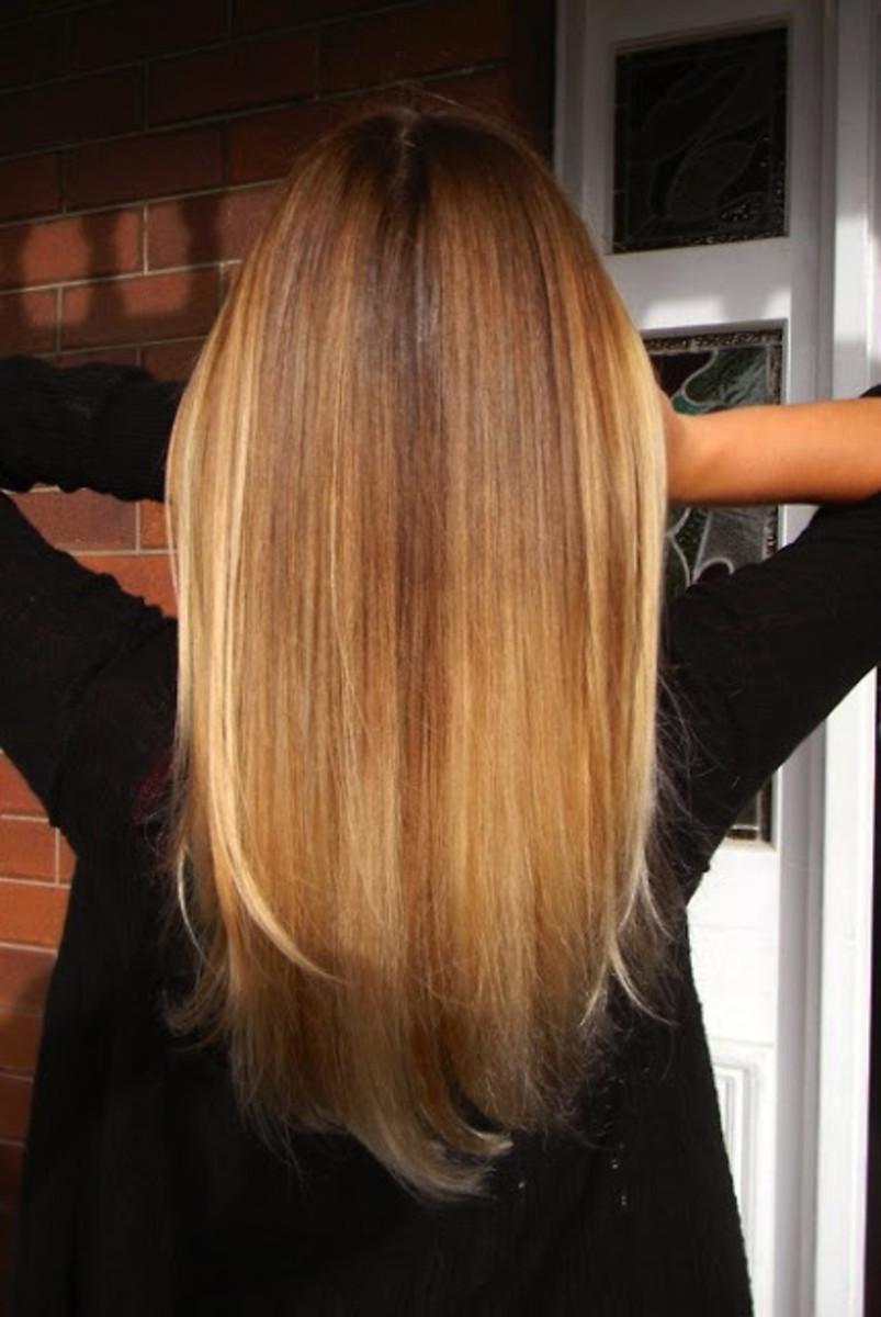Healthy, Shiny Hair!