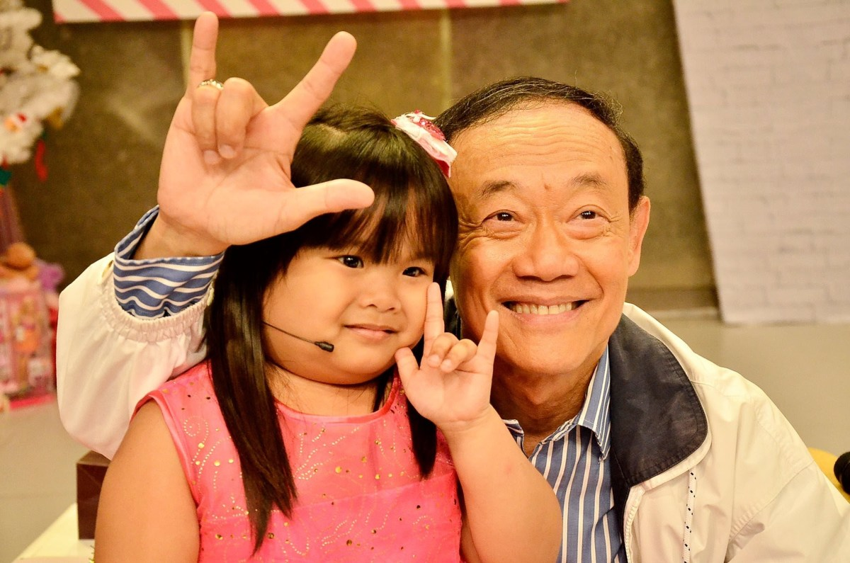 "Joe Mari on ""The Ryzza Mae Show"", a popular TV show in the Philippines (November 25, 2013)"