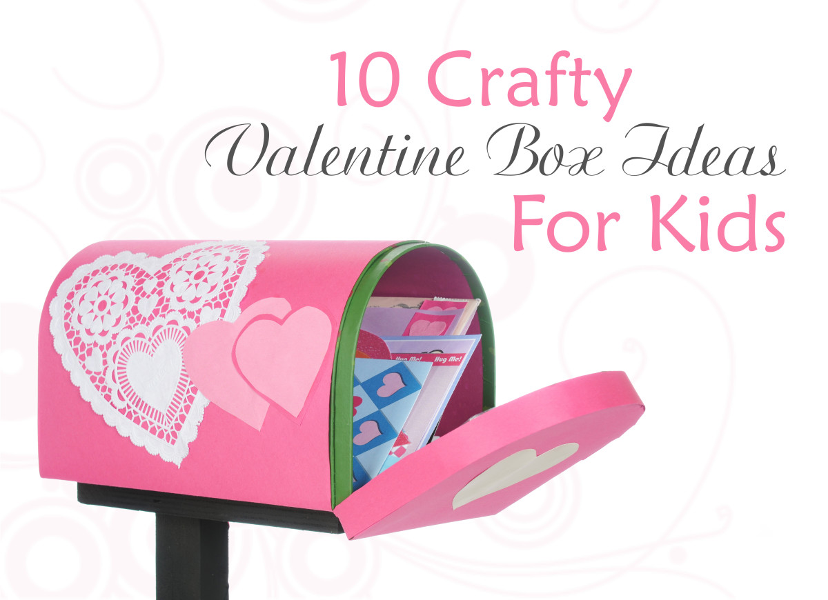 10 crafty valentine box ideas for kids - Valentines day boxes for kids ...