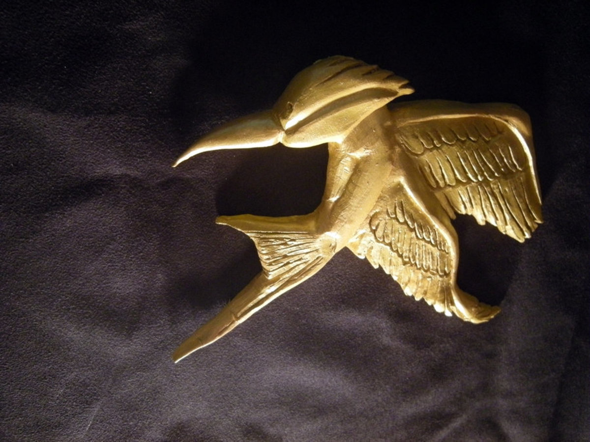 Mockingjay from The Hunger Games.