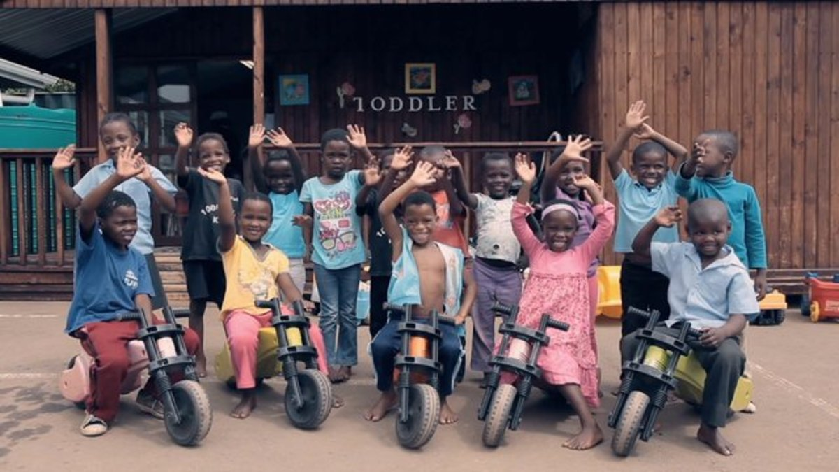 Children in South Africa