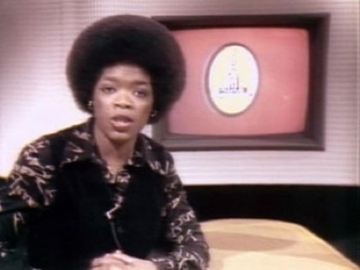 Oprah Winfrey in 1984