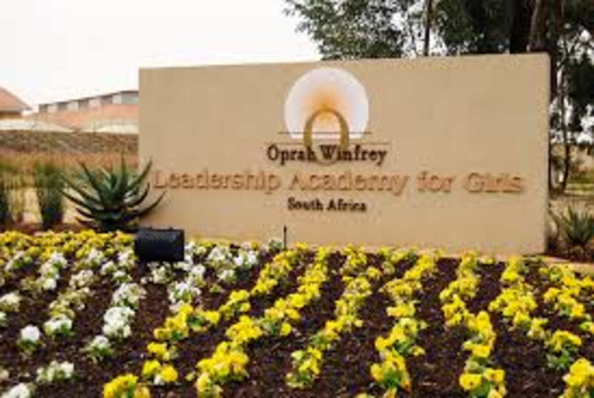 Oprah's school in South Africa