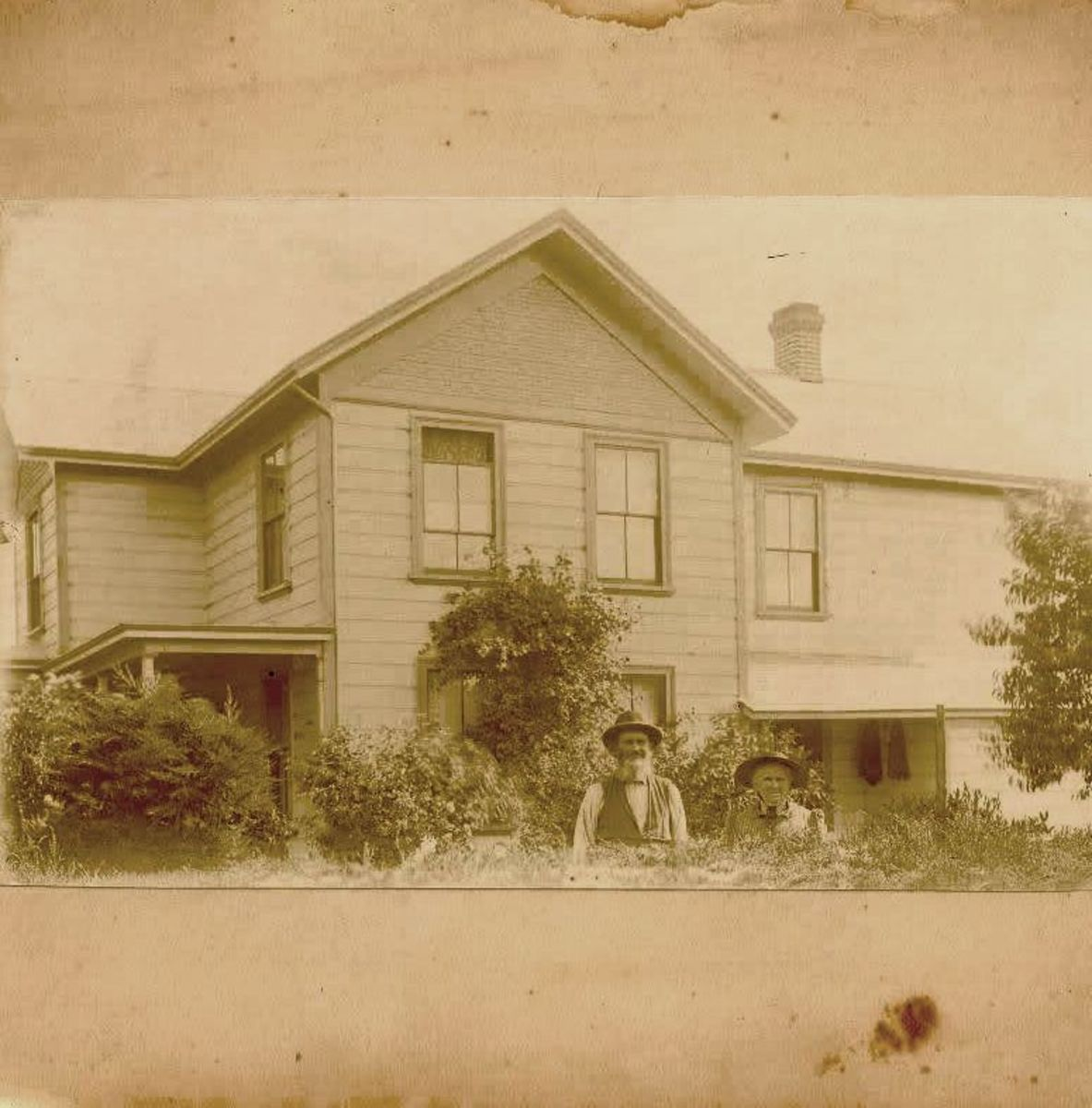 Home of John and Mary Magdalena Bollinger in San Jose, California.