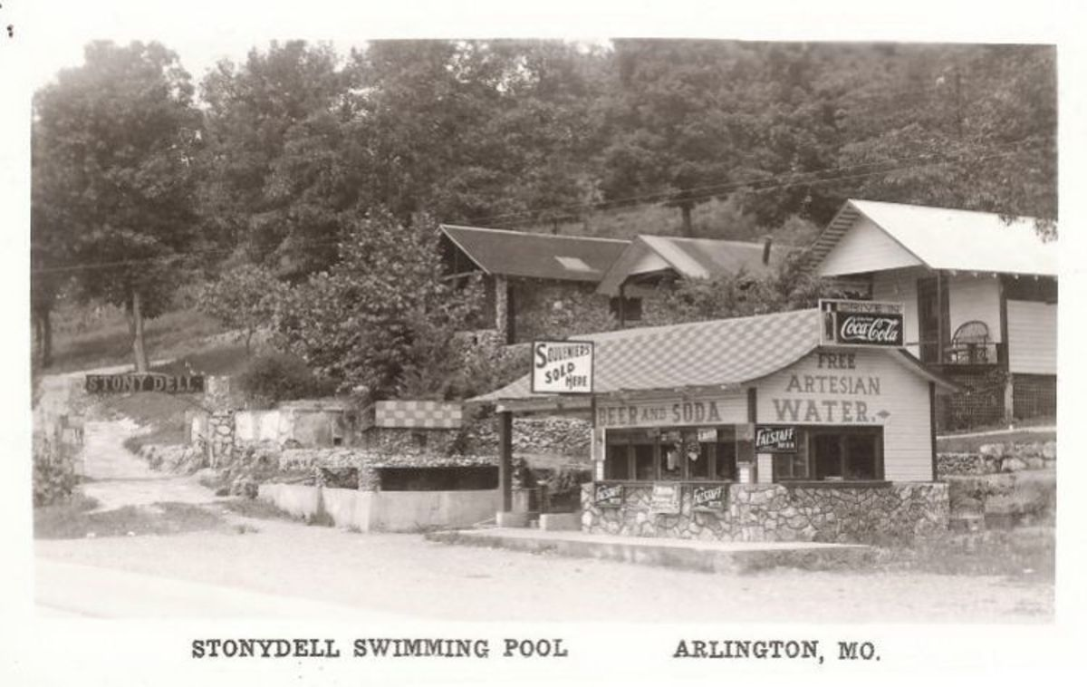 The Stony Dell Resort in Arlington, Missouri: A Route 66 Ruin