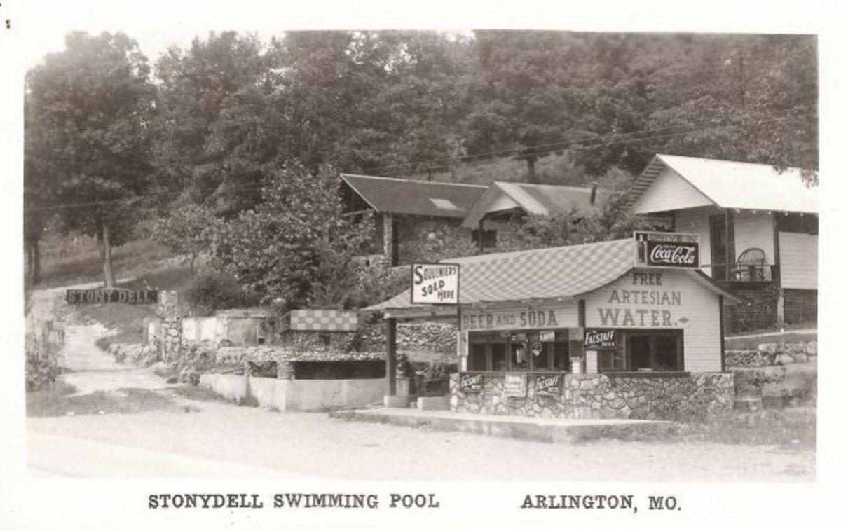 The Stony Dell Resort in Arlington, Missouri: A Route 66 Ruin