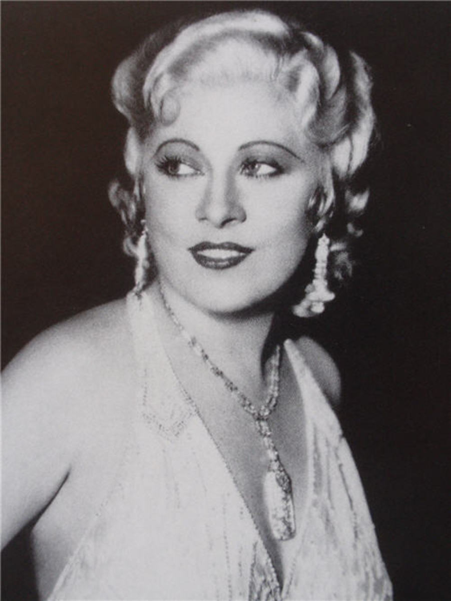 Mae West, no stranger to Stony Dell Resort.
