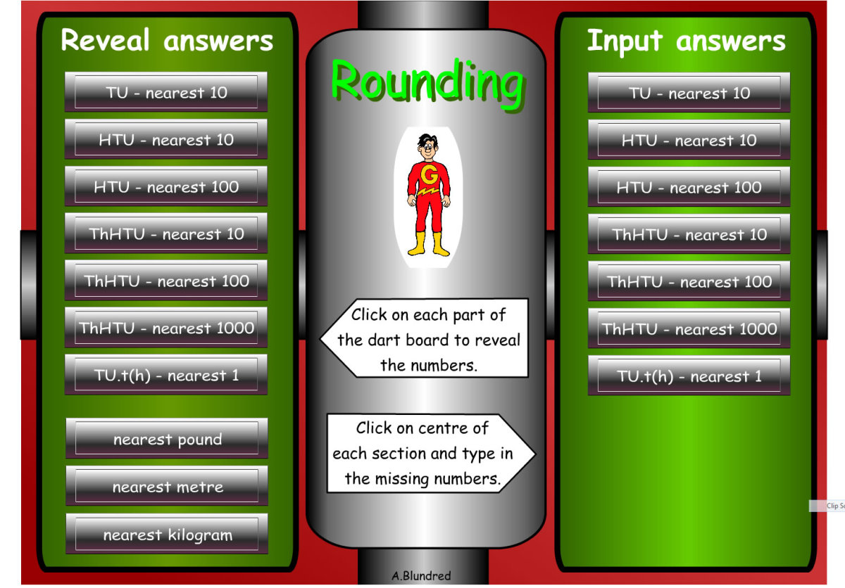 A great website to practice rounding.