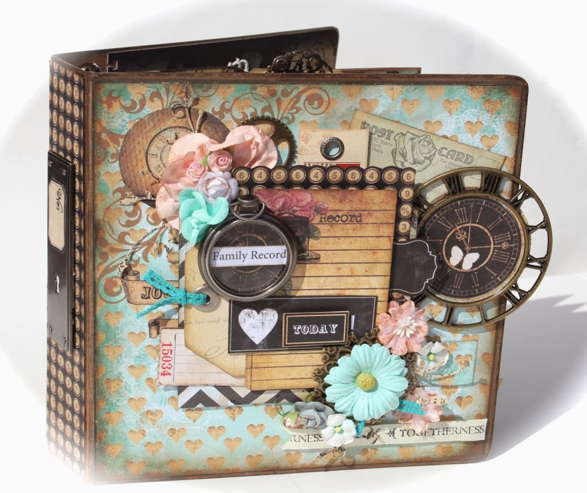 Scrapbook albums are the places where we store our memories for generations to come