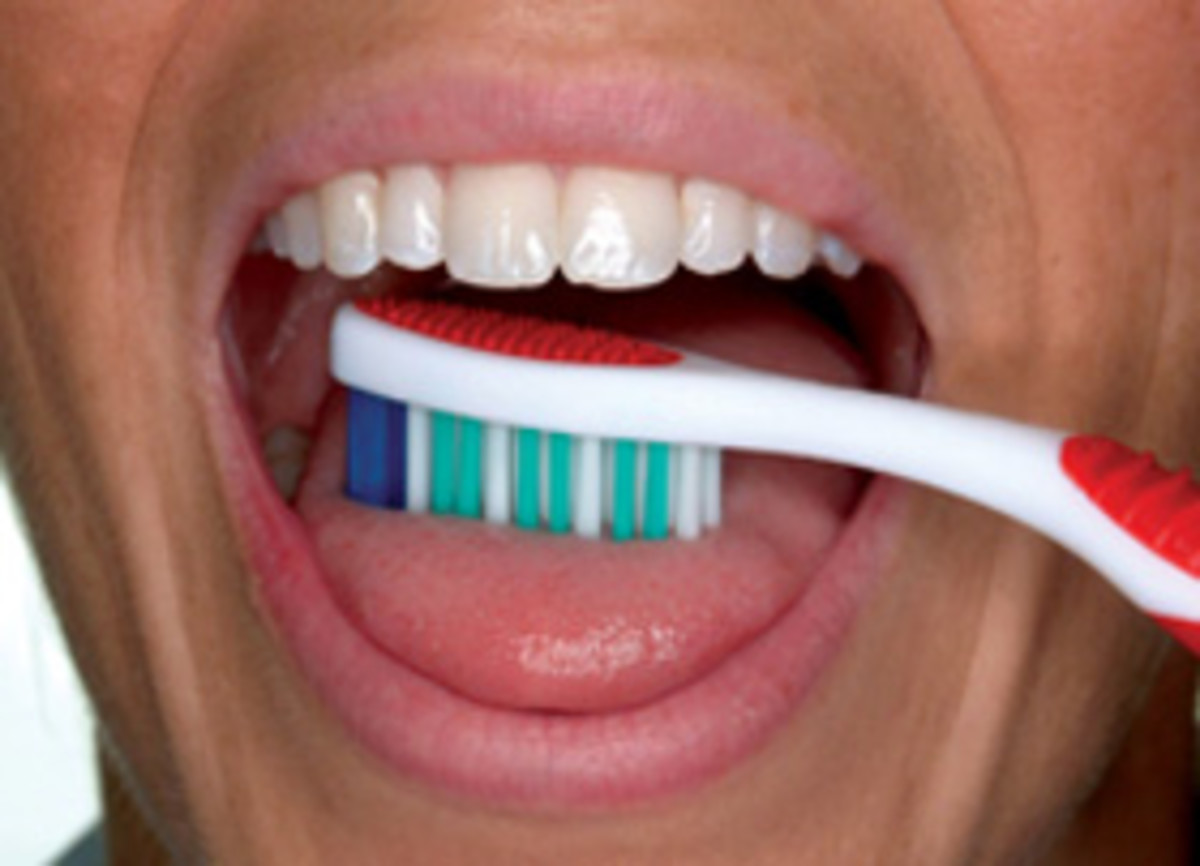 Brush your tongue regularly as part of your oral hygiene.