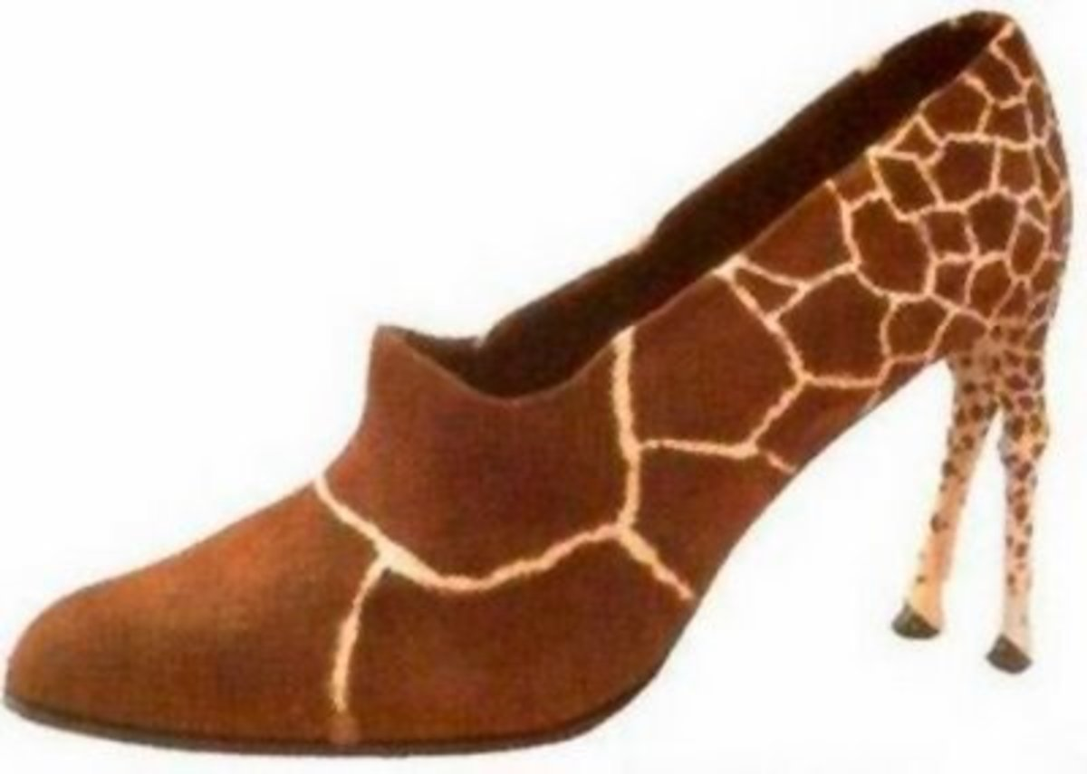 If you get a whole group of people wearing these, you can take a cool photo of the giraffe stampede!