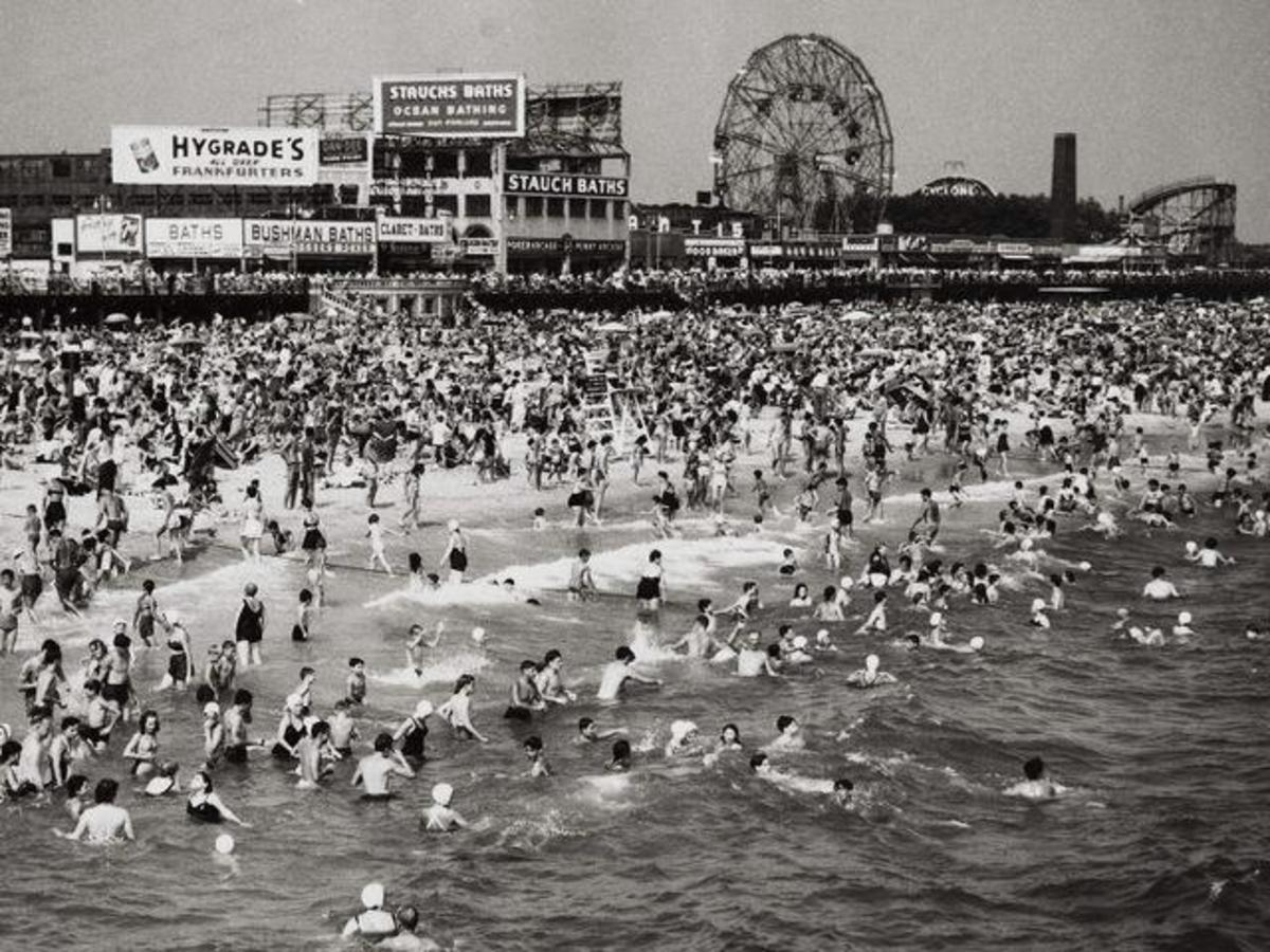 Coney Island in better days.