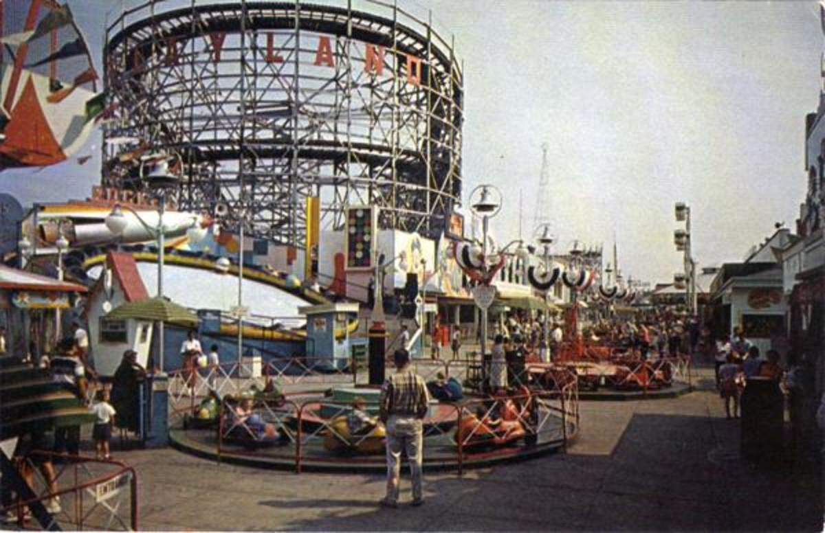 Rockaway Playland in the 1950s