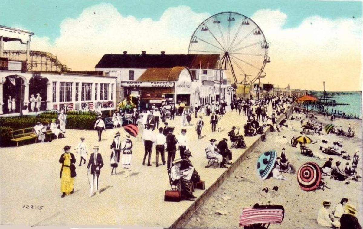 Staten Island's Midland Beach Amusement district was only slightly smaller than....