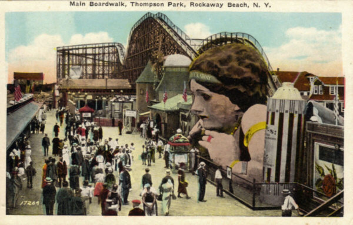 L A Thompson's amusement park