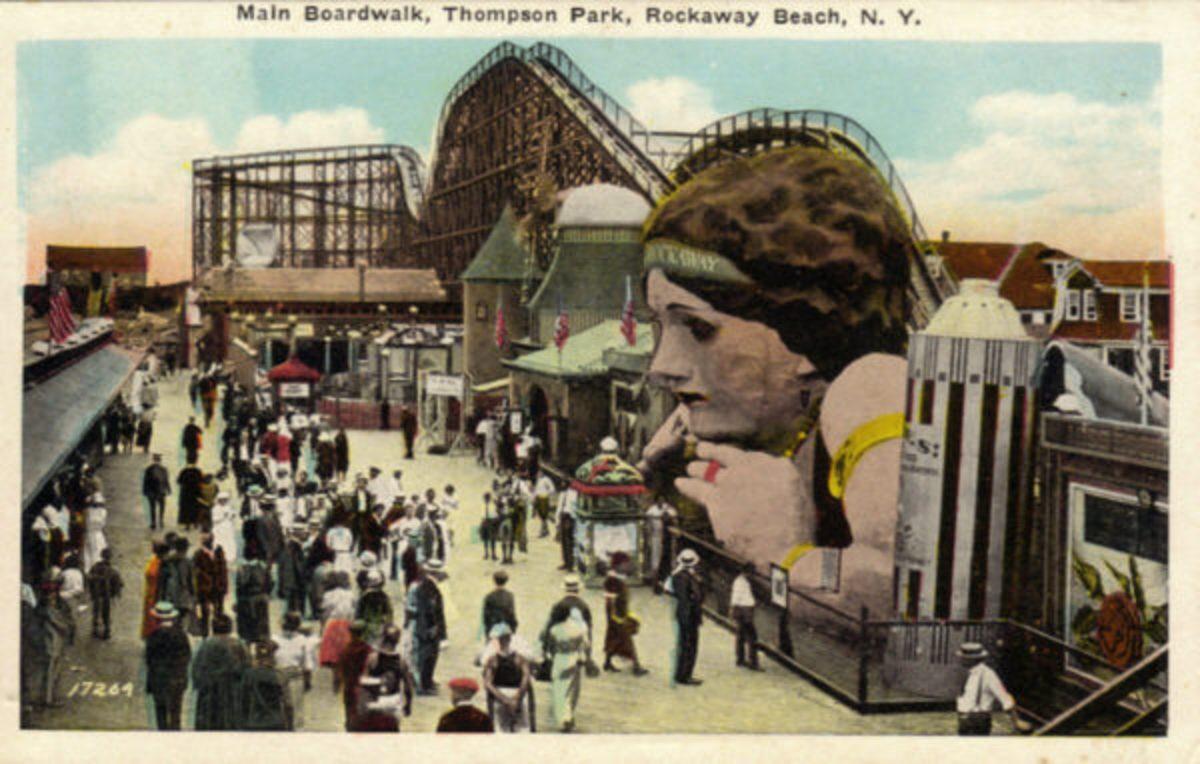 L A Thompson's amusement park