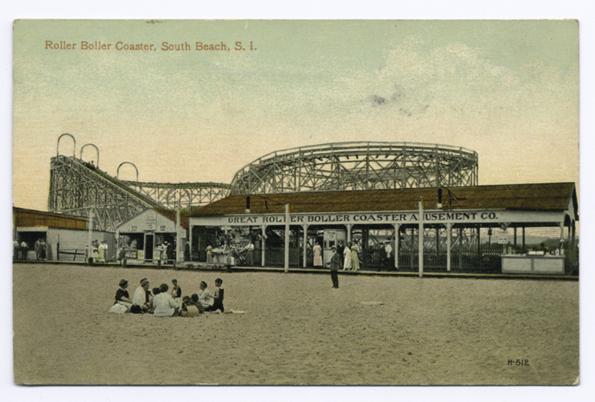 ....the South Beach amusement district, also on Staten Island and both side by side. Staten Island residents were very lucky.