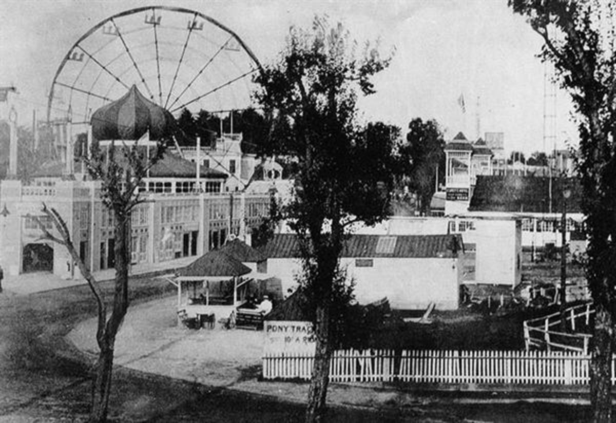 One of Northern Beach's two major amusement parks, Gala Park.