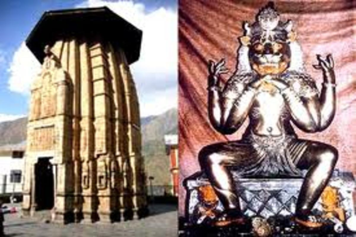 The Narsingha Temple and the idol of Narsingha