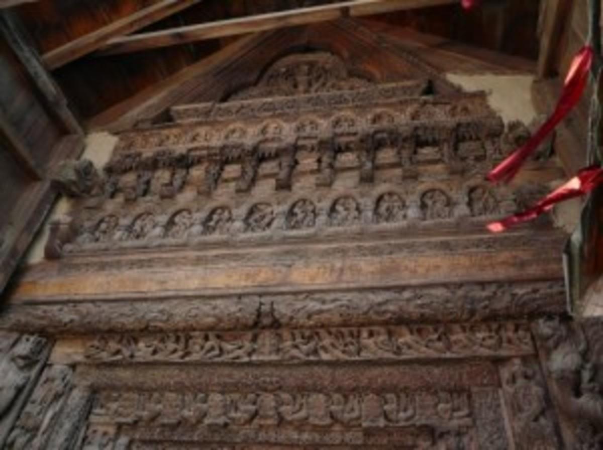 Entrance of Lakshana Devi Temple