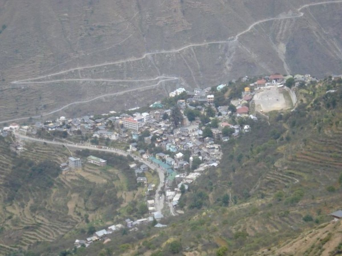 Bharmour view from top