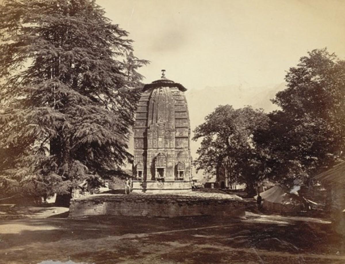 Manimaheshvara Temple, Brahmaur, Chamba, 1875 AD
