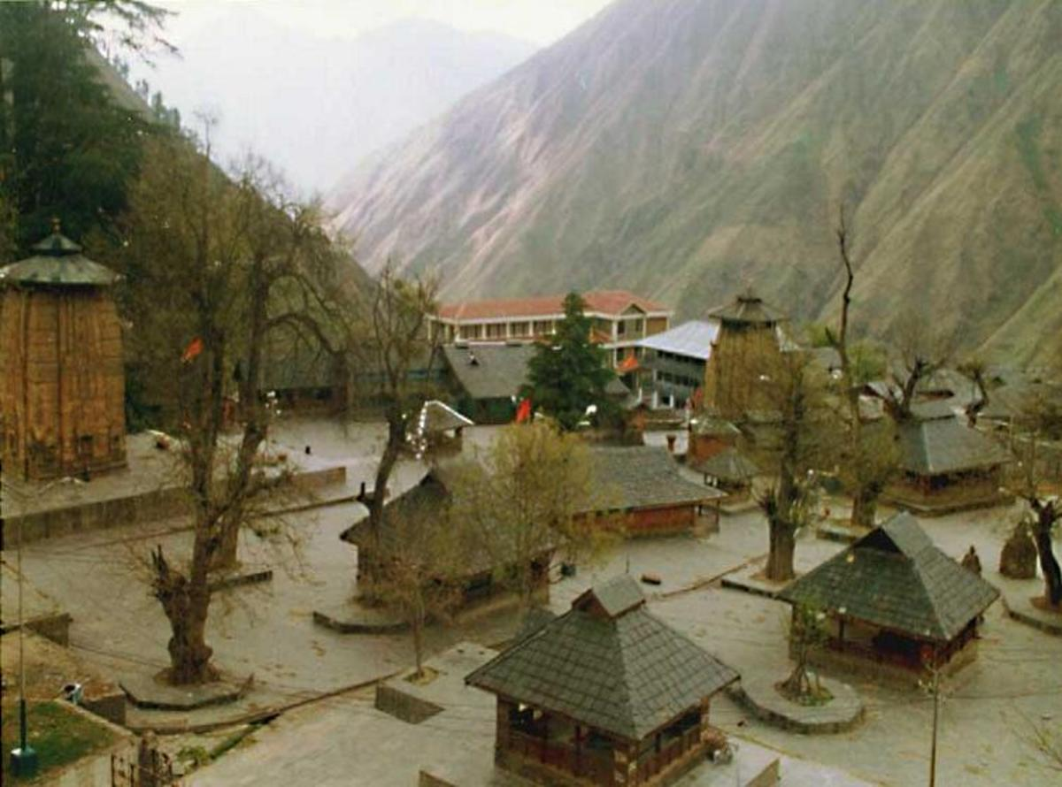 """Chaurasi"" or 84 temples complex at Bharmour"
