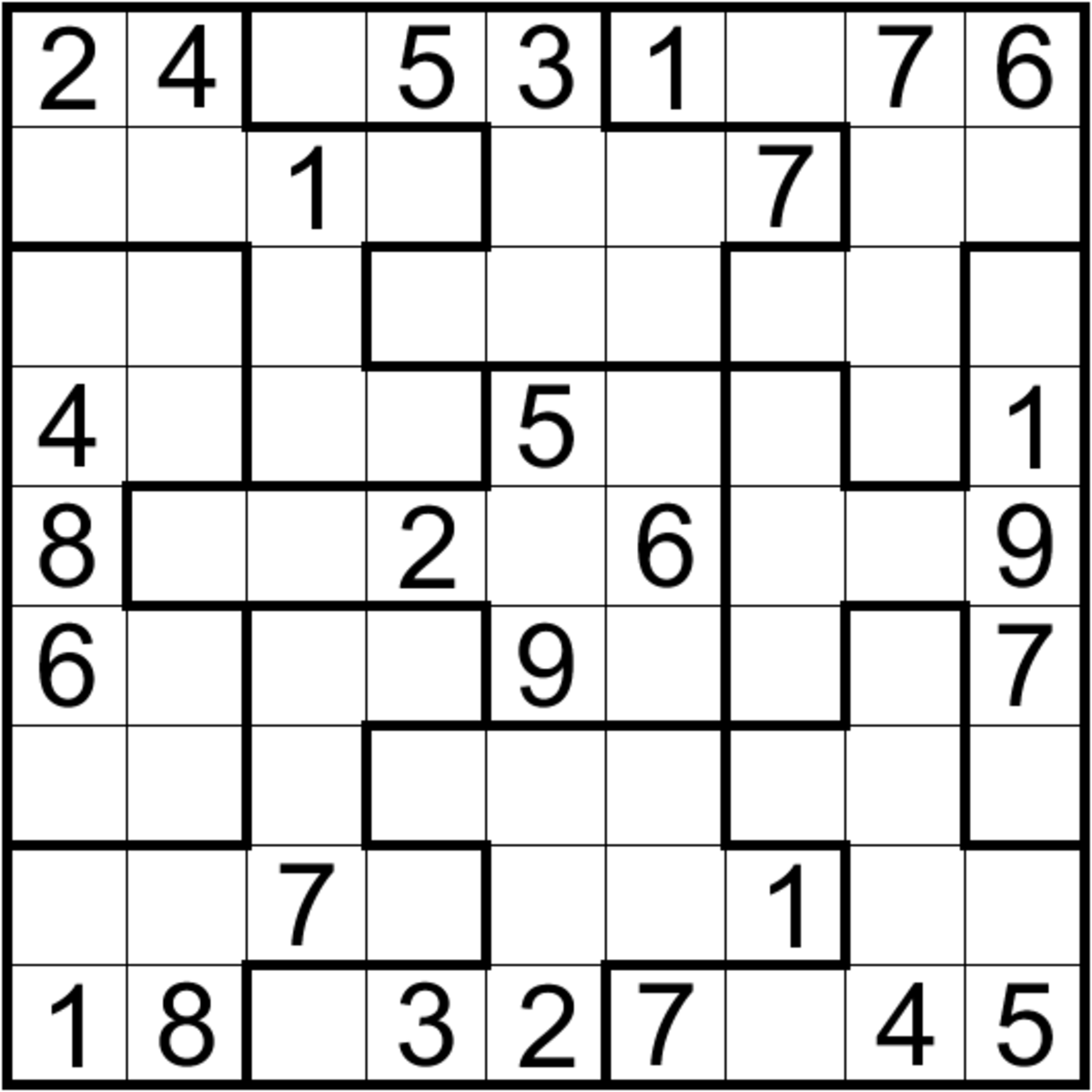 6 Different Types of Sudoku That You Should Try | HubPages
