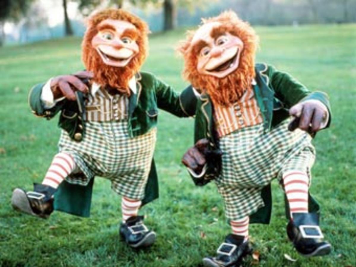 A pair of Leprechauns.