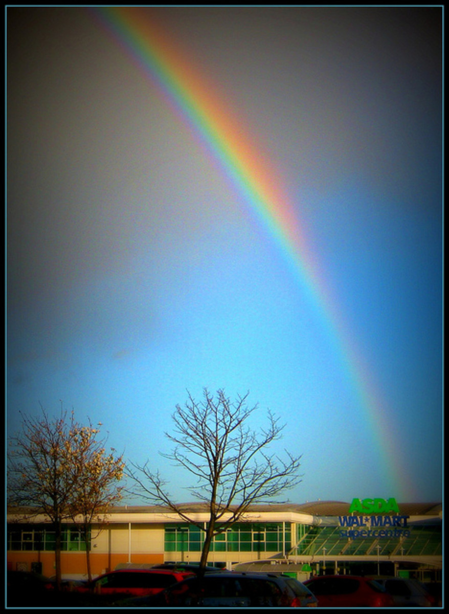 Leprechauns are believed to have a pot of gold at the end of their rainbow.