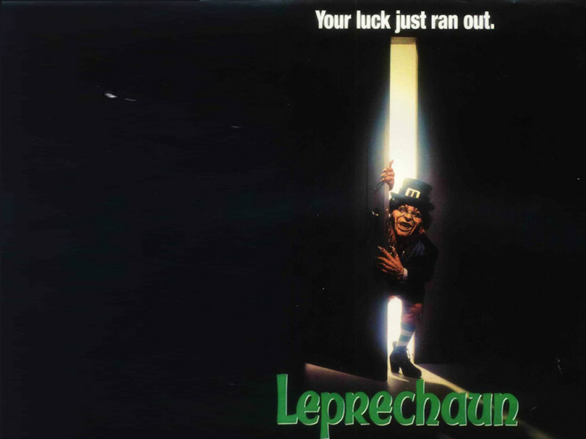 The Leprechaun Movie Franchise is considered one of the best Scary Movie Franchises of all time!