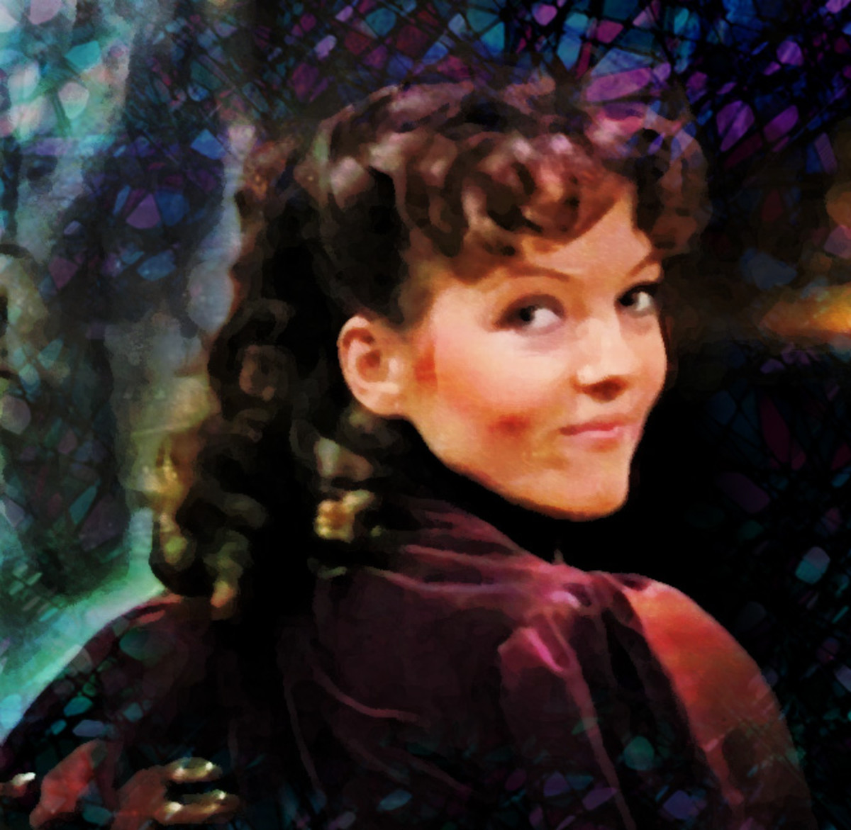 """Nyssa from """"Black Orchid"""" (my photomanip)"""