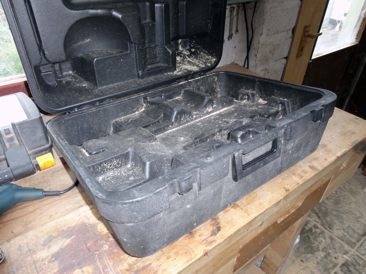 Moulded tool box