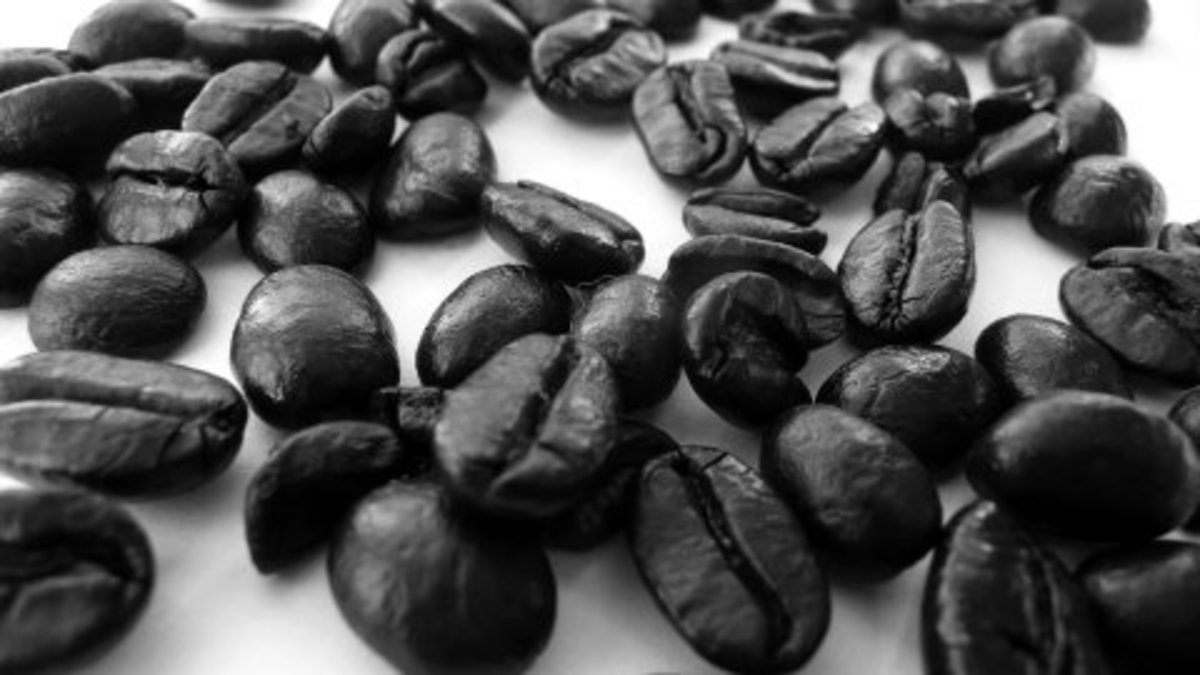 How much caffeine is in my coffee beans?