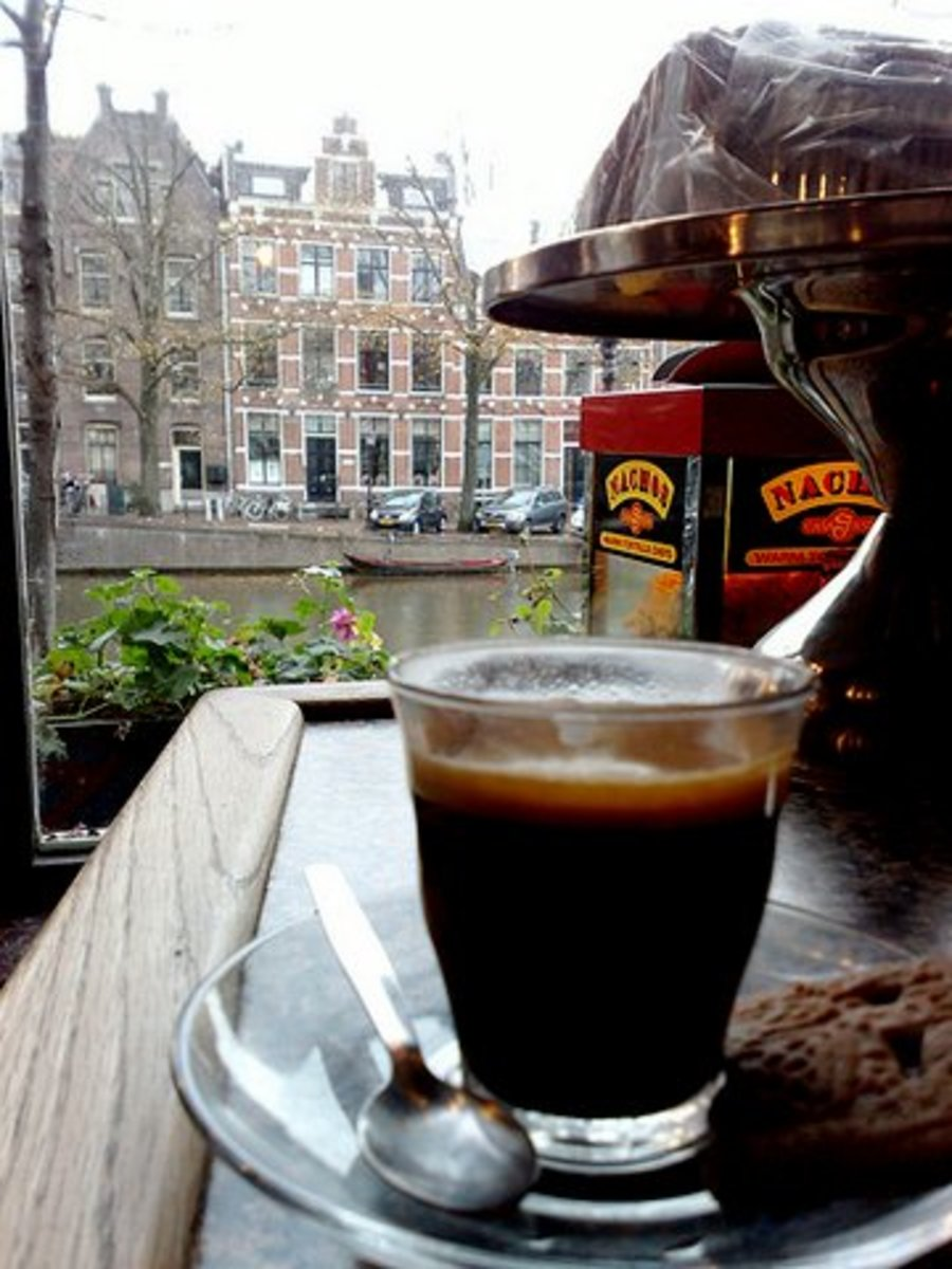 Coffee in Amsterdam, the land of coffee drinkers