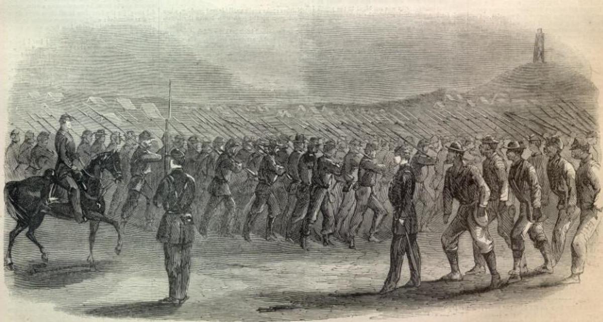 American Civil War Life: Union Infantryman - Life on Campaign 6