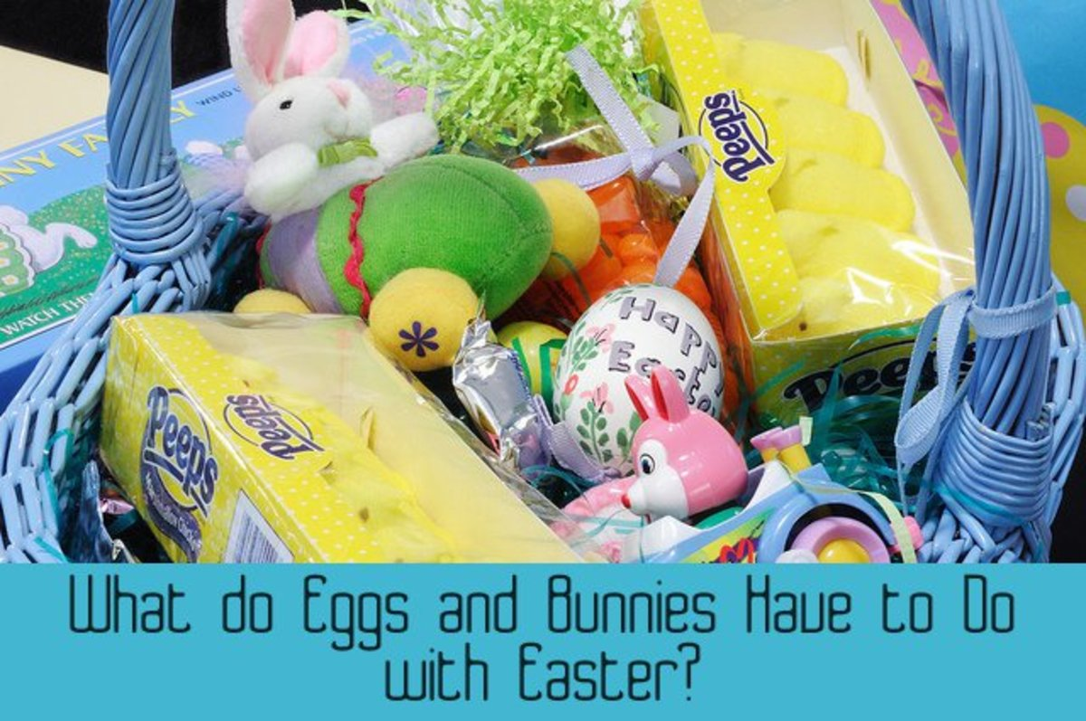 What do eggs and bunnies have to do with Easter?