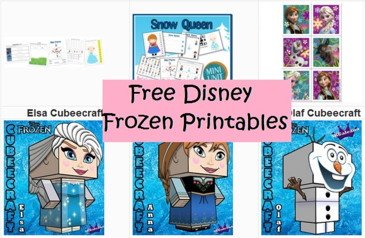 Free Disney Frozen party printables