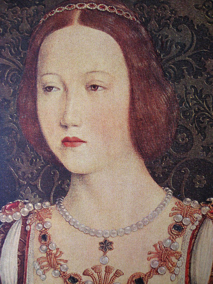 Mary Tudor took the blame for the marriage to Charles Brandon.