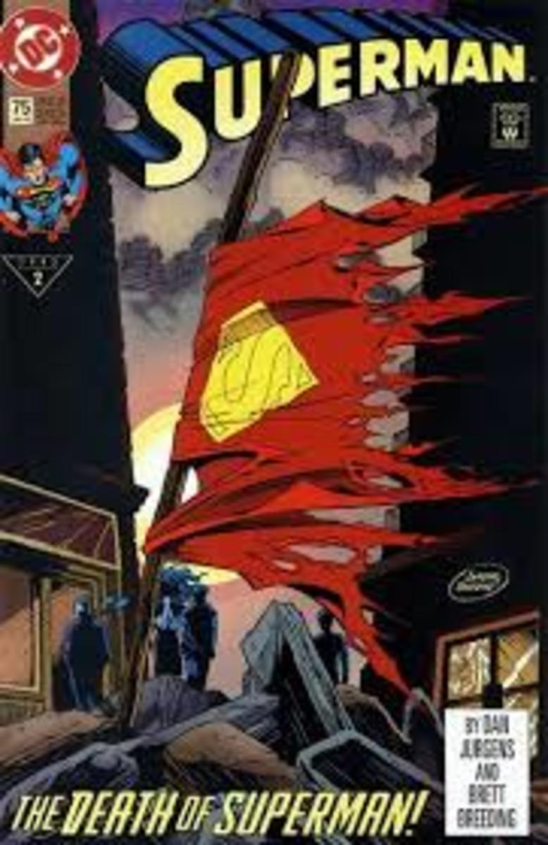 Superman # 75 The Death Of Superman.